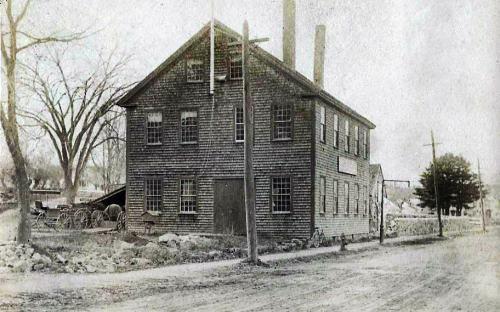 Poor's Wagon Shop 1895 North Main St. looking north