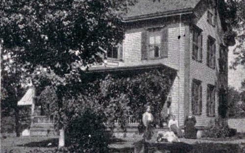 1896 Glimses of Andover T. F. Pratt house
