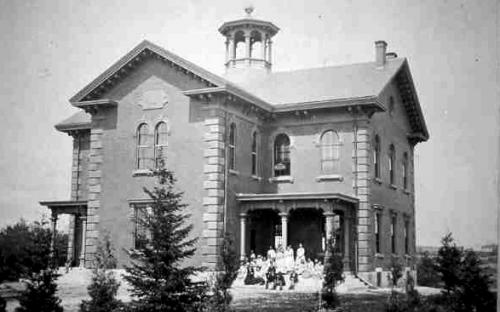 Punchard High School 1871-1934 - second building