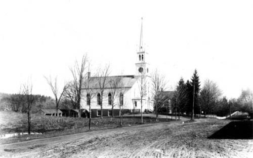 Free Christian Church - circa 1890
