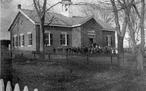 Richardson School circa 1900 - Frye Village
