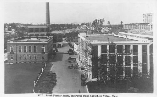 Creamery, Power Plant & Hardy Brush Co. c. 1924