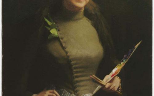 Sarah Wyman Whitman, stained glass artist