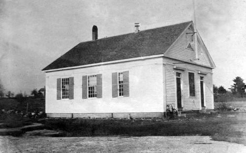 Scotland Schoolhouse c. 1890