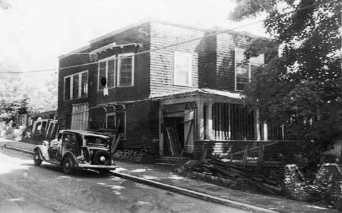 Hillside demo in 1931