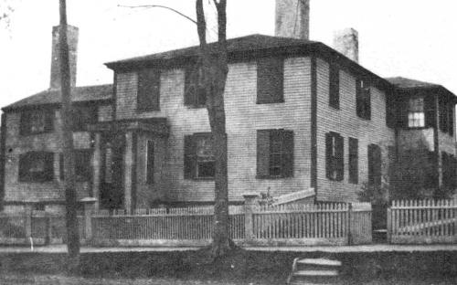 Dinsmore / Richardson House 54 Main St. razed 1906