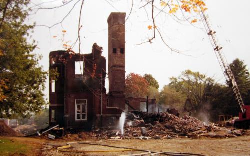 October 1981 fire in Stowe School