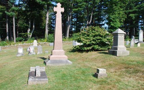 Harriet Beecher Stowe, Rev. Calvin Stowe, son Henry E.B. Stowe graves