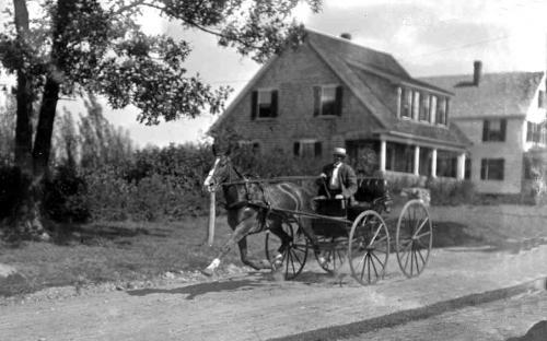 The Sidney S. Batchelder & Nellie & Henry Sawyer houses 1915
