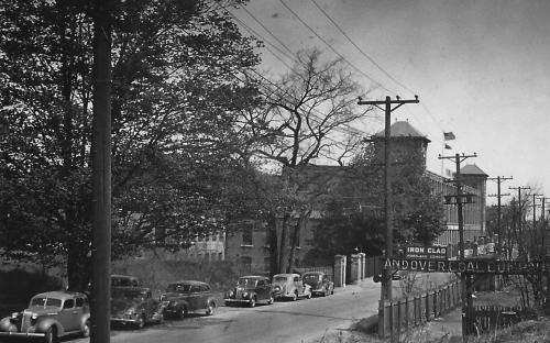 View north on Railroad St. circa 1940's