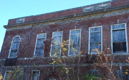 Nov. 2014 - upper story west facade