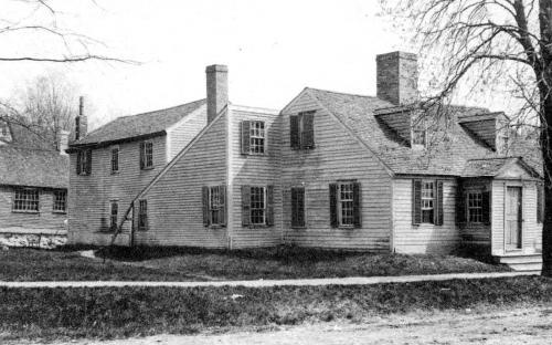 Henry Newman - Thomas Clark House circa 1900