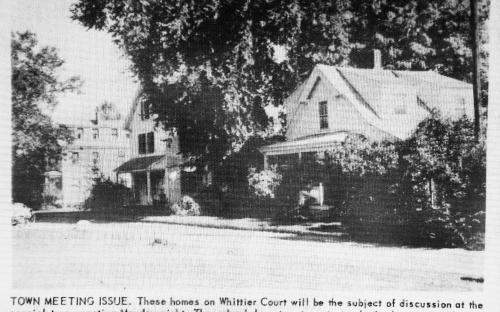 Whittier Ct. - Oct. 2, 1969 Andover Townsman