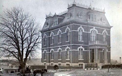 Memorial Hall Library as built cir. 1880