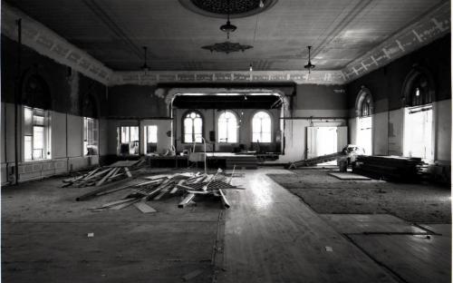 1988 Restoration of the Hall