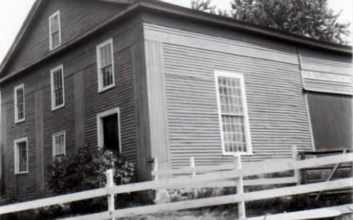 As barn on Bancroft Rd. 1988