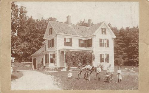 James J. & Lucy Abbott's children 1891