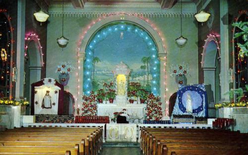 Chapel interior 1950's