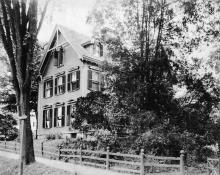 1 Chestnut St. circa 1900 Tyer House