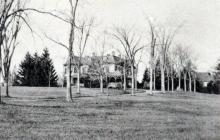 Francis H. Johnson estate circa 1900