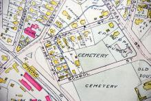 1906 Map detail p Pittington 71 & 75 School St