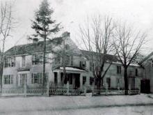 Hussey Homestead c. 1900