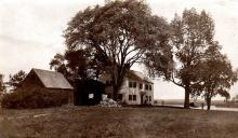 Haggett - Chase house circa 1900 west view