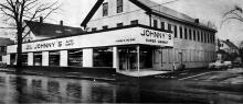 Johnny's Supermarket Nov. 1956 - Andover Townsman