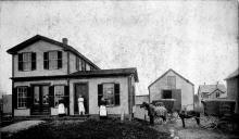 "59-61 Park St. Hodge's ""Andover Bakery"" circa 1893"