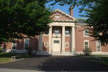Oliver Wendell Holmes Library, Sept. 11, 2017