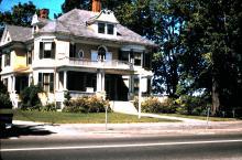 89 Main St - Dr. Cyrus W. Scott house c. 1960