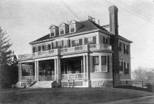 Dr. Albert E. Hulme House 1900