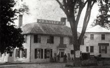 Herman Abbott Jr. furniture store circa 1868