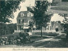 1896 Amos Blanchard House - later Williams Hall