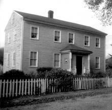Howarth House on Baker Lane 1976