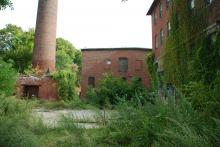 Old Engine & Boiler plant  lot Sept. 2014