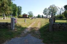 Sept. 11, 2017 Main entrance to cemetery