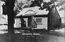 Country Store c. 1945 - on River Rd. - former Burke house