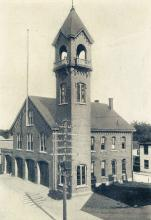 Andover Fire House circa 1910