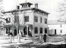 John Flint house circa 1880