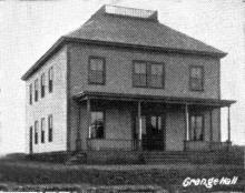 Grange Hall 1896 original location at 180 Lowell St.