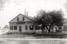 Old Depot building - M. T. Walsh abt 1895