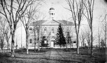 Bulfinch Hall circa 1900
