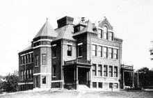 Second Stowe School building 1895 - 1981